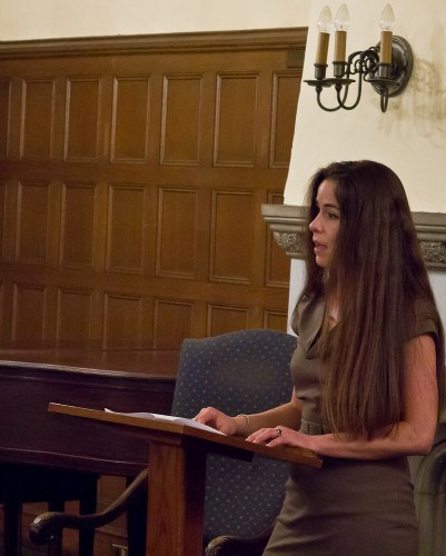 Kristen Millares Young Reading at Literary Wilderness Benefit