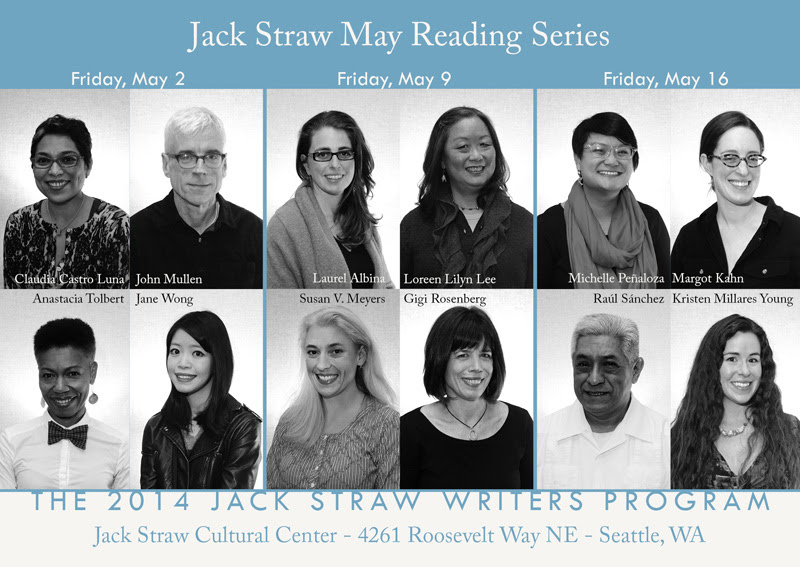 Jack Straw May reading series