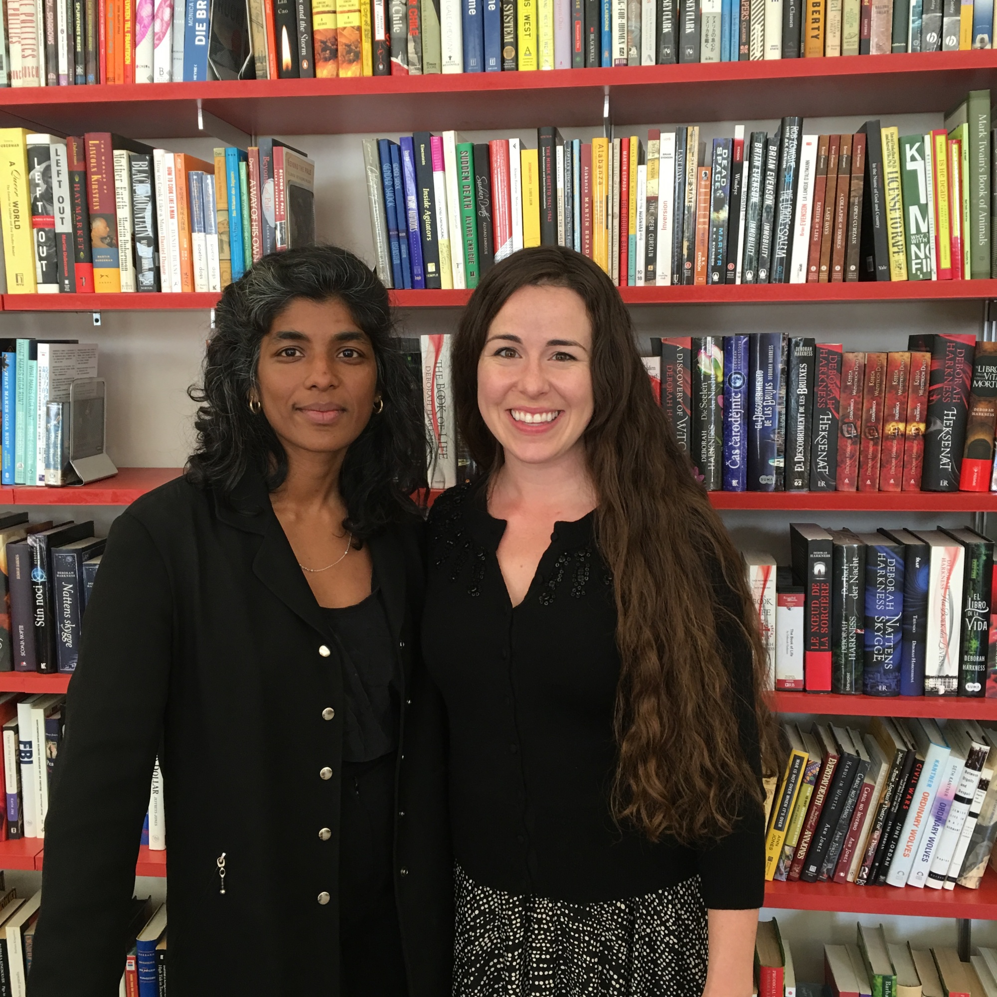 Ria Julien and Kristen Young at Frances Goldin Literary Agency